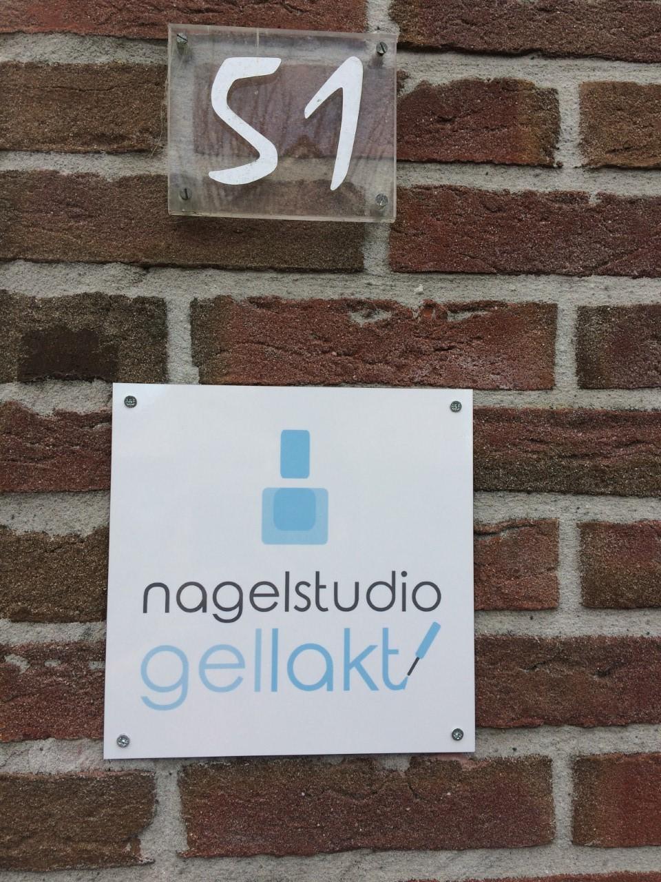 Nagelsalon Gellakt in Groningen.