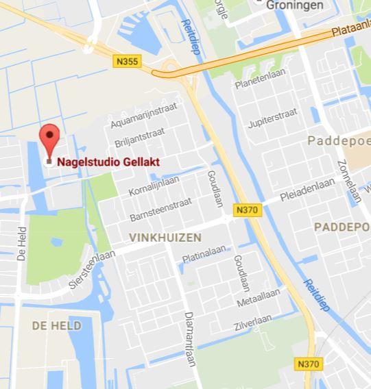 Contact met Nagelsalon Gellakt in Groningen.